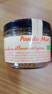 Paté de Mejillones ecológico.Pan do Mar